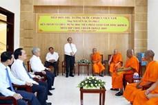 政府总理阮春福走访南宗高棉佛教学院