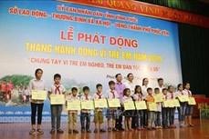 Chung tay vì người nghèo, trẻ em dân tộc thiểu số