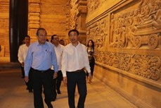 政府常务副总理张和平赴河南省考察2019年联合国卫塞节准备工作