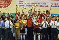 坚江省:中国四川女子排球队荣获2019年平田VTV9杯国际女子排球比赛冠军