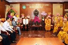 政府常务副总理张和平前往胡志明市开展佛诞节走访慰问活动