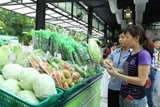 河内同多地结合将绿色农产品引进零售系统