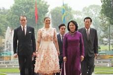 越南重视加强与瑞典的传统友好关系