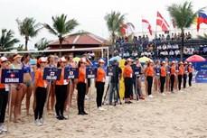 26支球队参加2019年广宁省巡洲世界女子沙滩排球锦标赛