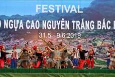 Khai mạc Festival Vó ngựa cao nguyên trắng Bắc Hà năm 2019