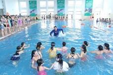 Phát động toàn dân tập luyện môn bơi, phòng chống đuối nước