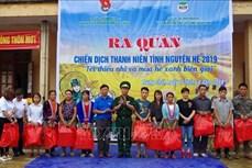 Lai Châu ra quân Chiến dịch Thanh niên tình nguyện Hè năm 2019