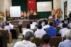 Công bố Quy hoạch chi tiết xây dựng Khu Di tích Phủ Trịnh