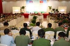 越南与柬埔寨开展边境地区联合打击毒品犯罪专项行动