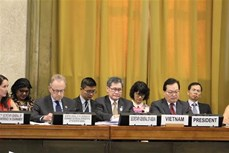 越南担任联合国裁军谈判会议主席