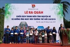 Quảng Nam ra quân chiến dịch thanh niên tình nguyện hè hướng tới những vùng khó khăn