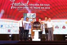 Khai mạc Festival văn hóa ẩm thực du lịch quốc tế - Nghệ An 2019