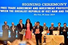 欧盟企业界希望《欧盟与越南自由贸易协定》尽早获得批准