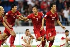 越南稳居亚洲球队15强