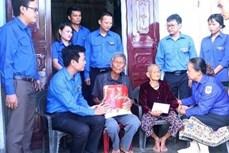 越南广平省和老挝甘蒙省举行青年友好会见活动