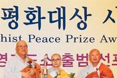 在韩越南佛教徒协会主席荣获世界佛教和平奖