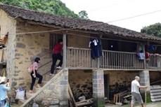 Nhà sàn đá của người Tày ở Cao Bằng