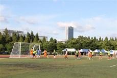 800余名在韩越南留学生积极参加第12届运动会