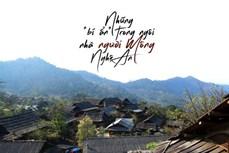 """Những """"bí ẩn"""" bên trong ngôi nhà người Mông ở Nghệ An"""