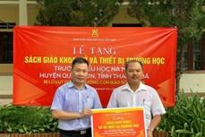 Nhà xuất bản Giáo dục tặng sách giáo khoa tại các tỉnh Khánh Hòa, Bến Tre, Thanh Hóa