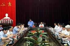 Đoàn công tác của Bộ Ngoại giao làm việc tại tỉnh Điện Biên