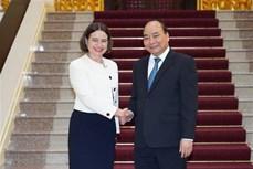 政府总理阮春福会见澳大利亚驻越大使