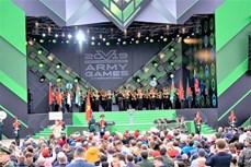 越南人民军体育代表团参加2019年国际军事比赛