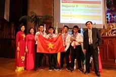 越南代表队在2019年第20届IMC国际数学竞赛中取得骄人的成绩