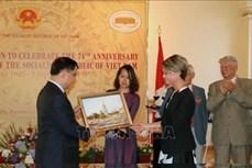 越南风土人情与国家发展成就展在乌克兰举行