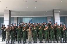 越南参加ADMM+框架内的人道主义排雷及联合国维和实地演练活动