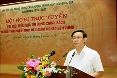 Phó Thủ tướng Vương Đình Huệ: Tín dụng chính sách xã hội tạo nguồn lực thực hiện chương trình xây dựng nông thôn mới, giảm nghèo bền vững