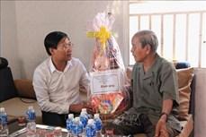 Lãnh đạo tỉnh Bình Thuận chúc Tết Katê của đồng bào Chăm theo đạo Bà-la-môn