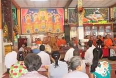 Đồng bào Khmer Sóc Trăng đón lễ Sene Đônta trong niềm vui phát triển