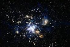 Phát hiện nhóm thiên hà lâu đời nhất vũ trụ