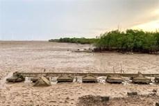 九龙江三角洲地面沉降平均每年下沉2-5公分