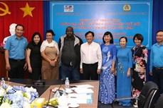 越南将承办2021年世界工会联合会代表大会