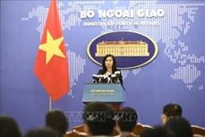外交部发言人:越南一直关注、研究与评估湄公河水资源相关活动