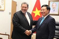越南与联合国安理会:越南外交部长与各国外长举行会晤