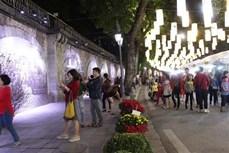 Chợ hoa Tết truyền thống Hàng Lược: