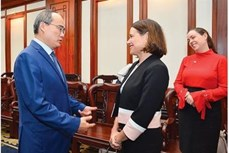 胡志明市愿与澳大利亚共同制定经济合作战略