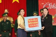 国会主席阮氏金银来得乐省视察经济社会发展情况