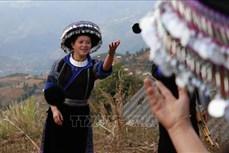 Độc đáo nghề dệt thổ cẩm của phụ nữ Mông ở vùng cao Mù Cang Chải