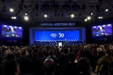 达沃斯世界经济论坛2020年年会开幕 越南高级代表团出席开幕式