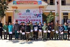 Kon Tum hỗ trợ người nghèo vùng khó khăn đón Tết Canh Tý