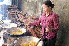 Cay nồng mứt gừng Tết phường Kim Long xứ Huế
