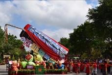 Đồng Tháp có đòn bánh tét lớn nhất Việt Nam