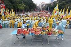 纪念玉回-栋多大捷231周年的栋多丘庙会在首都河内隆重举行