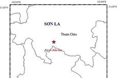 Xảy ra động đất có độ lớn 2.6 tại huyện Thuận Châu