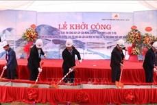 Khởi công xây cầu Móng Sến ở Lào Cai