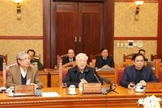 越共中央总书记、国家主席阮富仲主持中央书记处会议—全国欢庆2020年庚子春节